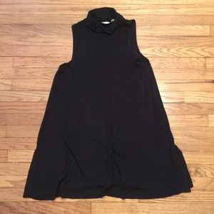 Anthropologie black turtleneck dress - Large